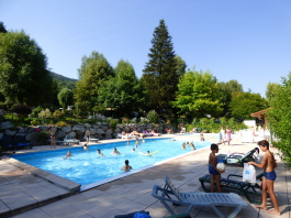 the smimming pool Clair Matin