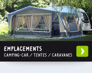 Emplacements camping, camping-car et résidents