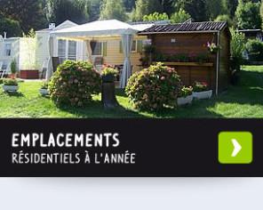 Emplacements résidentiels