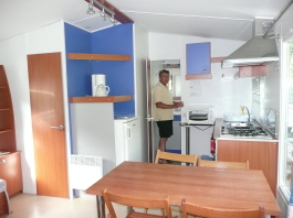Kitchenette d'un Grand Large