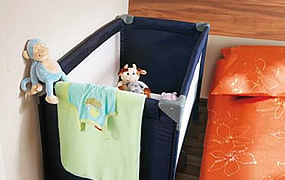 Space for baby cot