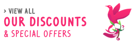 Our discounts and Special offers